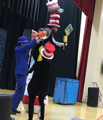 What a crazy Cat in the Hat!