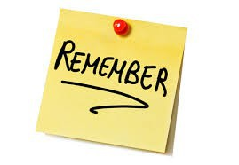 Remember Sticky Note