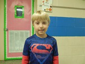 1st Grade Student of the Month