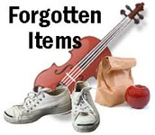 If your student forgets an item at home...