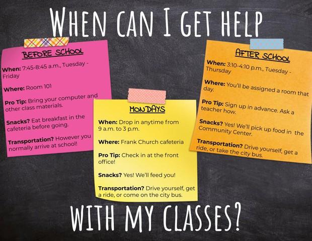 tutoring help options