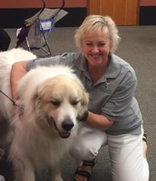 Fun Reading with a Therapy Dog!