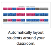 Mega Seating Plan is a free tool designed to help you create seating charts