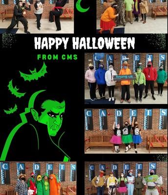 CMS Staff - Halloween!