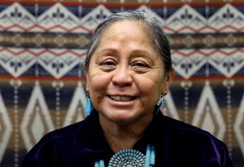 About Larenda Long, Navajo