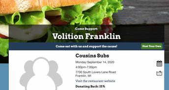 Click for Volition Fundraiser
