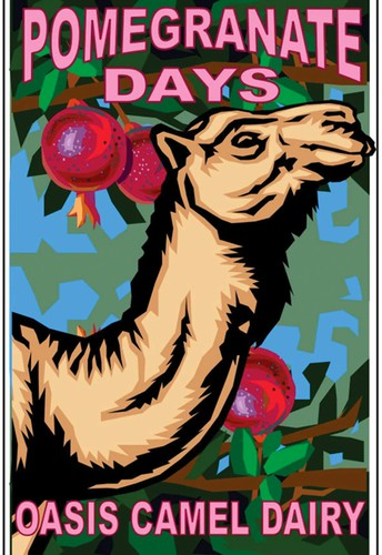 Pomegranate Days at the Oasis Camel Dairy