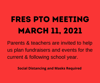 Picture of FRES PTO Meeting flyer