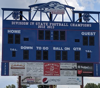 A New Scoreboard is Donated
