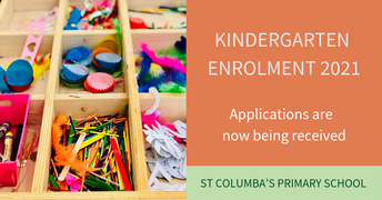 Kindergarten Enrolment 2021 - Close TOMORROW!