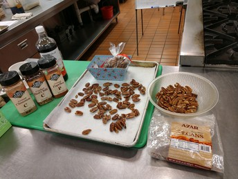 Culinary Learns Candied Pecans