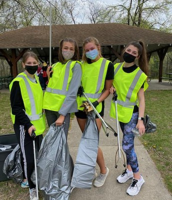 Student Council Spring Clean Up