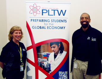 Killough Middle School was named a Project Lead the Way Gateway Showcase School.