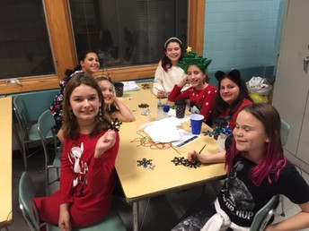 PTO Winter Chill crafts and chat time