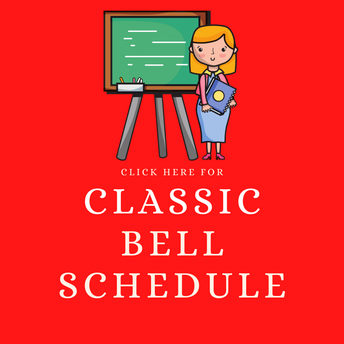 RMS Bell Schedule for CLASSIC STUDENTS 4.05.21 Updated Roosevelt Middle School Classic Schedule