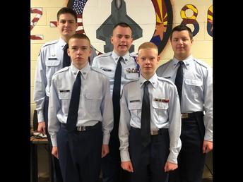 Air Force JROTC CyberPatriot Team