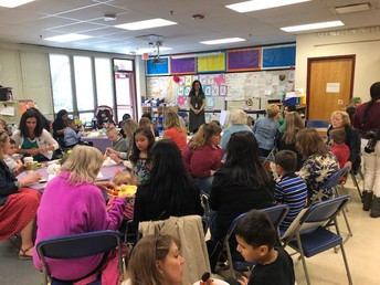 Kindergarten Mother's Day Tea