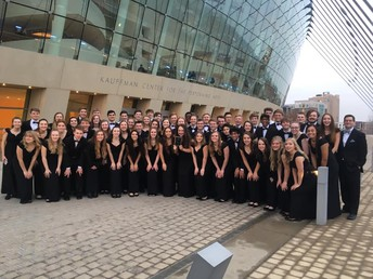Urbandale Singers perform at the American Choral Directors Association national conference in Kansas City!