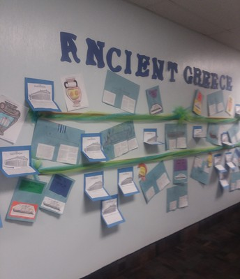 Love seeing student work in the halls!