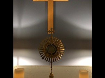 Monstrance in the Chapel