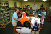 Please help The Pink Hill Library supply our kids with what they need for school.