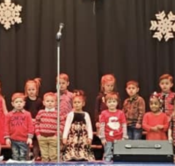 Pre School Delights us with their Christmas Program!
