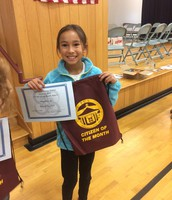 PCS 4th grade Citizen of the Month