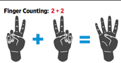 The Pluses of Counting on Your Fingers