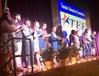 Temple Education Foundation Awards Night