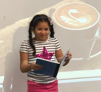 1st Grade Poetry Coffee House