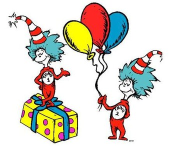 Thank you to everyone that participated in Dr. Seuss's Birthday Day!  March 2, 2021!