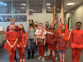 Students PARTICIPATE in Unity Day