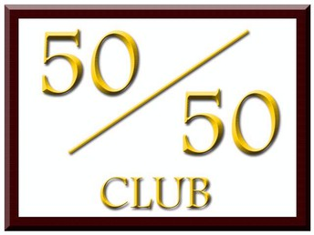 Congratulations to our 50/50 Winners