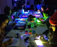 Make  Your Painting Glow in Club Create