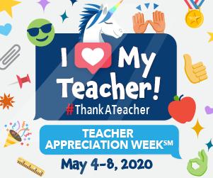 Teacher Appreciation Week is May 4-8