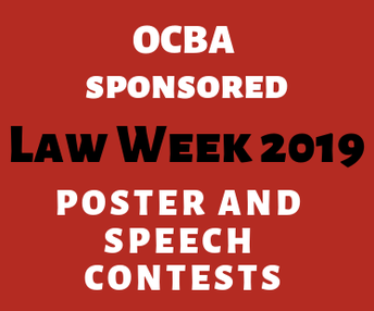 2019 OCBA LAw week speech contest