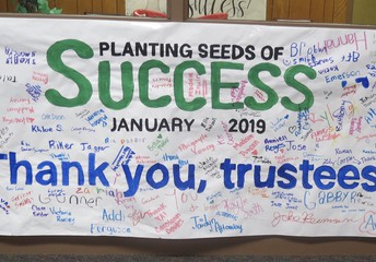 Thank You, Trustees...from the Junior High