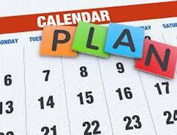 Mark Your Calendars!!