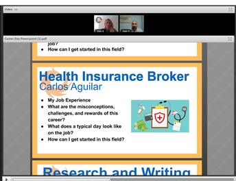 Career Day - Insurance Broker