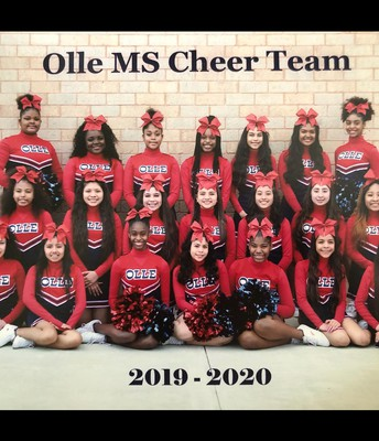 OMS 2019-2020 Cheer Team