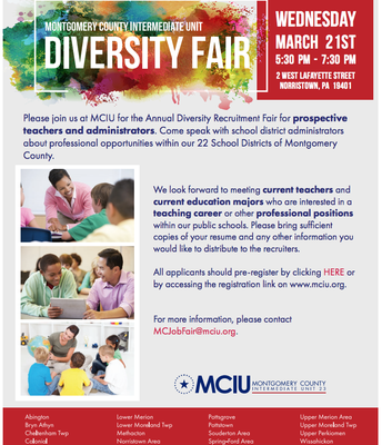 Montgomery County Annual Diversity Recruitment Fair
