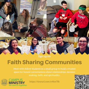 Faith Sharing Communities flyer