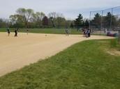Kickball at recess