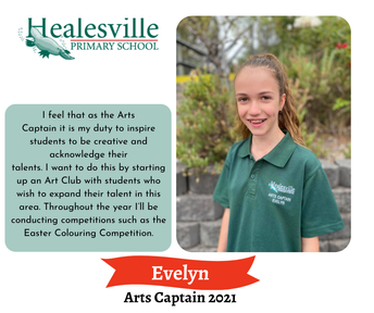 Evelyn– Arts Captain