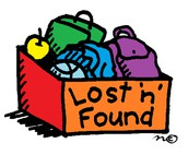 Lost & Found - Remember to Label Lunch Boxes and Coats