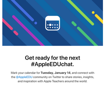 Apple EDU Twitter Chats