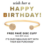 2. MESSAGE YOUR CUSTOMERS WHO HAVE JUNE BIRTHDAYS AND MAKE SURE THEY KNOW THEY CAN GET A FREE BRACELET!