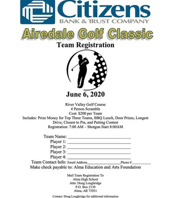 2020 Citizens Bank Airedale Golf Classic