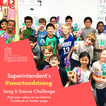 SEND YOUR VIDEOS:  Dr. Taylor's #SmartandStrong Dance & Song Challenge
