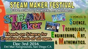 San Diego STEAM Maker Festival December 3rd, 2016